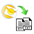 Convert Outlook PST to Text